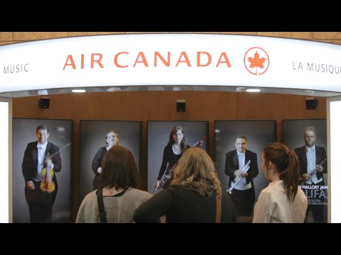 Travel through Music I Air Canada
