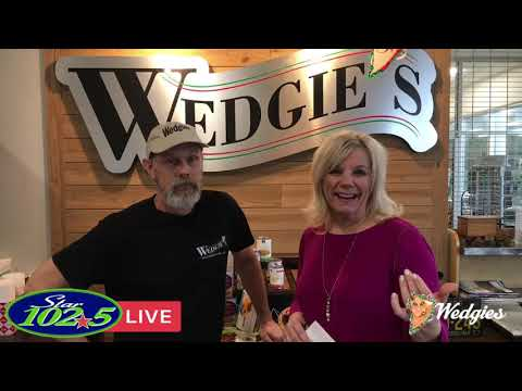 Star 102.5 LIVE at Wedgies Sandwich Shop