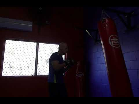Putting The 'Squeeze Factor' Together  on the heavy Bag