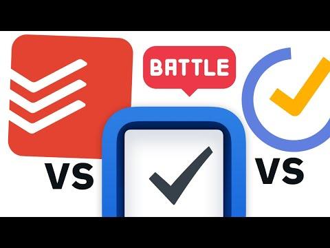 Things 3 vs Todoist vs TickTick