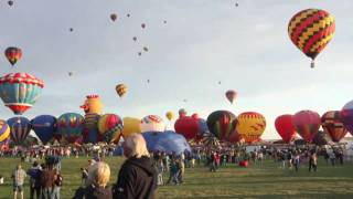 Timelapse: Albuquerque International Balloon Fiesta