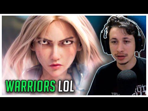 REACT Warriors | Animação da Temporada 2020 - League of Legends (com 2WEI e Edda Hayes)