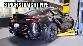I MADE THE LOUDEST SUPRA IN THE WORLD!