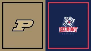 First Half Highlights: Belmont at Purdue | Big Ten Basketball