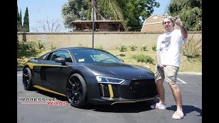 Getters Brand New Audi R8 Gets Wrapped and new Zitto Wheels!