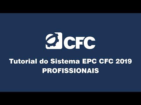 Tutorial do Sistema EPC CFC 2019 - PROFISSIONAIS