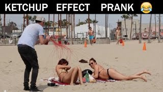Ketchup Effect Prank👺 - Julien Magic