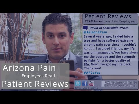 Pain Free After Ski Accident. Joe Carlon Reads A Patient Review