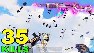 35 KILLS - NEW WORLD RECORD in SEASON 18!! | 35 KILLS vs SQUADS | PUBG Mobile