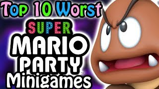 Top 10 Worst Super Mario Party Minigames