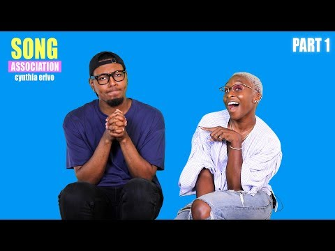 CYNTHIA ERIVO sings Floetry, Ella Fitzgerald, and Sam Cooke   SONG ASSOCIATION pt. 1
