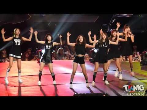 [160730] KCON LA 2016 GFRIEND Black Cat Nero Special Performance