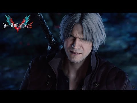 Devil May Cry 5 - NEW 2019 Dante Gameplay Trailer ( V is Revealed )