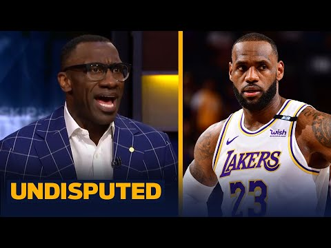 Skip & Shannon react to LeBron & the Lakers' Game 1 loss to the Phoenix Suns | NBA | UNDISPUTED