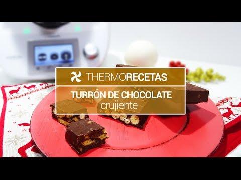 Turro?n de Chocolate Crujiente | Muy Fácil de Hacer