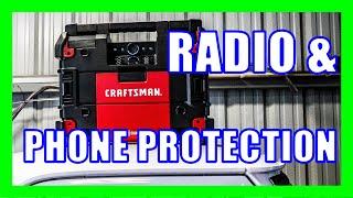 Craftsman Versastack Radio - Jobsite Tunes [Water & Dust Resistant]