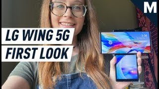 The LG Wing 5G is a Dual-Screen Wonder | Mashable