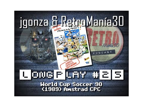 World Cup Soccer 90 - Amstrad CPC Longplay