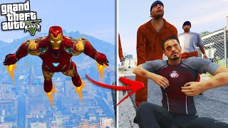 IRON MAN loses his SUPER POWERS (GTA 5 Mods)