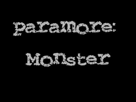 Paramore - Monster (Lyric Video)