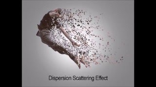 Photoshop Scattering Dispersion Effect | Photoshop Tutorial for Begineers