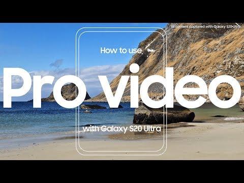 Optag videoer på det næste niveau med Pro Video-funktionerne