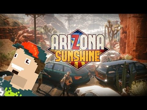 ENTRE ZOMBIES Y ARENA || Arizona Sunshine PSVR