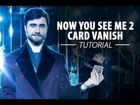 Now You See Me 2 – Card Vanish TUTORIAL - Xem Video Clip ...