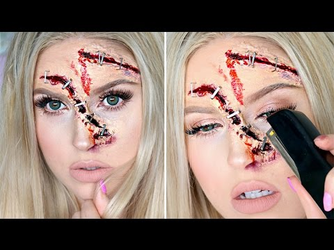STAPLE Halloween Tutorial ? Stapled Wounds SFX