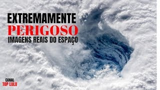 FURACÃO FLORENCE│IMAGENS ASSUSTADORAS VISTA DO ESPAÇO