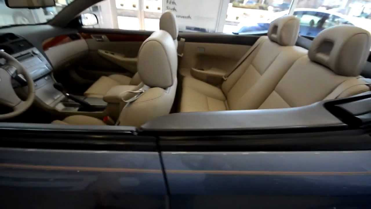 2012 Toyota Corolla For Sale >> 2008 Toyota Camry Solara Convertible (stk# 29404A ) for ...