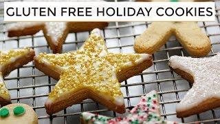 Gluten Free Sugar Cookies | Healthier Holiday Cookies