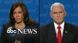 Pence and Harris address coronavirus response l Vice Presidential Debate 2020