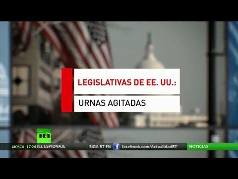 Elecciones legislativas en EE.UU.: Políticos y artistas celebran los últimos actos para atraer votos