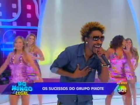 Baixar Domingo Legal - Pixote comemora 20 anos de carreira e canta ao vivo