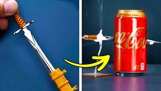 BEAUTIFUL MINI SWORD || Fantastic Miniature DIYs That Will Amaze You