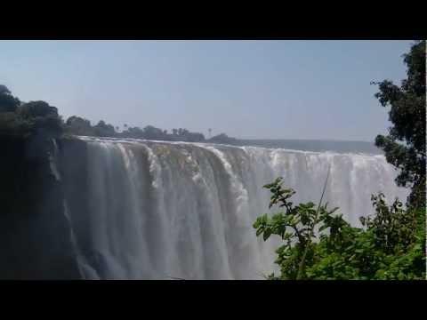 Victoria Falls and the Zambesi River