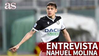 Entrevista NAHUEL MOLINA: el futbolista argentino que ha irrumpido en Italia con Udinese | Diario AS
