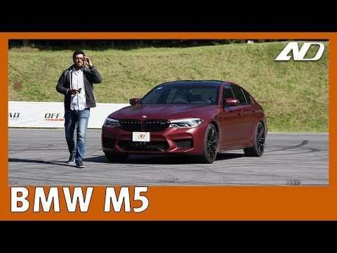 BMW M5 - No puedo creer que es capaz de todo eso
