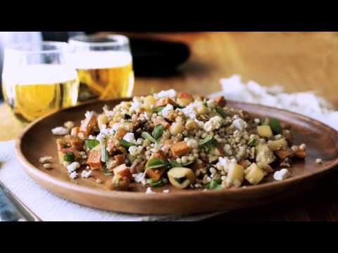 Barley, Sweet Potato and Feta...