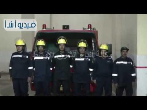 بالفيديو:محافظ سوهاج يضع حجر أساس معسكر قوات الأمن ووحدة إطفاء بمركز جهينة