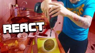 React: PietSmiet knackt ne Kokosnuss und kocht Curry