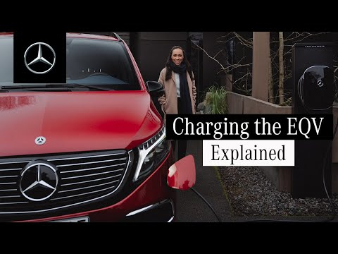 The EQV | How to Charge at Home and at Fast-Charging Stations