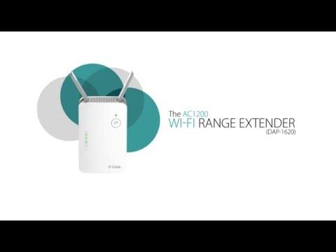 D Link AC1200 Wi-Fi Range Extender (DAP-1620)