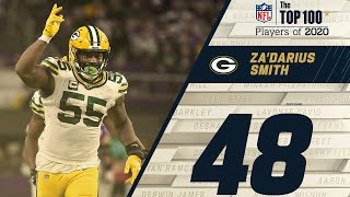#48: Za'Darius Smith (LB, Packers) | Top 100 NFL Players of 2020