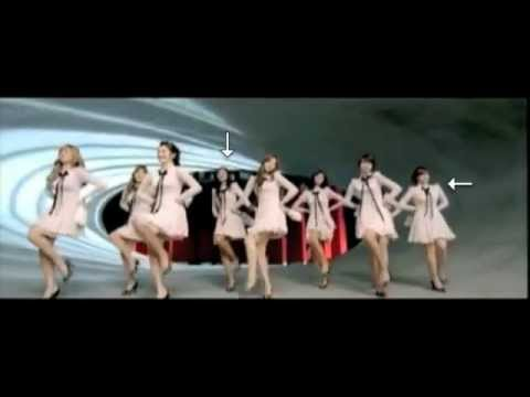 SNSD Music Video Mistakes