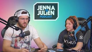 jenna and julien (podcast) funny moments pt 7
