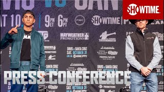 Davis vs. Santa Cruz Undercard: Press Conference | SHOWTIME PPV