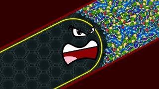 Wormate.io Lucky Giant Snake vs 727227 Snakes Epic Wormateio Best Gameplay!