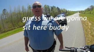 When the Police think Bikers will snitch